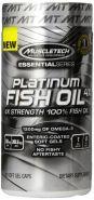 MuscleTech Platinum 100% Fish Oil 100 капсул (Омега-3)